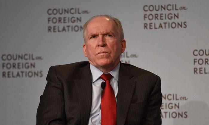 El director de la Agencia Central de Inteligencia (CIA), John Brennan, en el Consejo de Relaciones Exteriores en Nueva York, el 13 de marzo de 2015. (DON EMMERT/AFP/Getty Images)