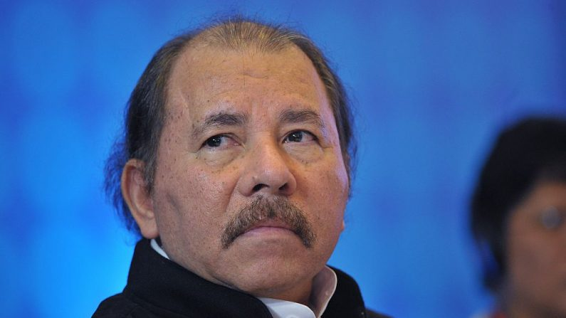 Daniel Ortega, mandatario de Nicaragua, en foto de archivo. (MANDEL NGAN/AFP/Getty Images)