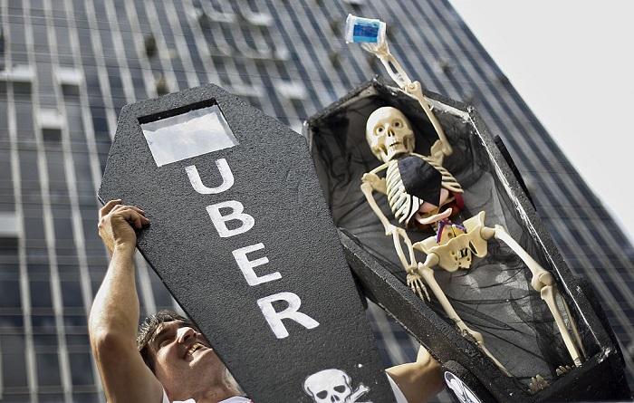 Hallan el cuerpo sin vida de un conductor de Uber desaparecido en Brasil