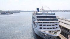 Guardia Costera busca a pasajero que cayó de un crucero al mar Florida