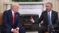 Obama no hizo nada sobre la injerencia rusa en las elecciones para ayudar a Clinton a ganar, dijo Trump