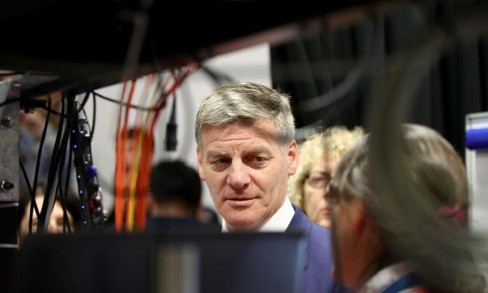 El exprimer ministro de Nueva Zelanda, Bill English, 13 de septiembre de 2017 en Auckland-Nueva Zelanda. English fue acusado de estar vinculado con espías chinos. (Phil Walter/Getty Images)