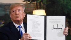 Trump abandona el acuerdo con Irán y ordena que se restablezcan sanciones del 'nivel más alto'