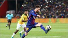 Messi descansará en el último partido del Barça en liga española