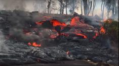 Continúan los cierres de carreteras en Hawái mientras la lava bloquea avanza