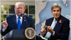 Trump rechaza la oscura diplomacia del exsecretario John Kerry con Irán