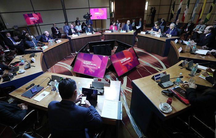 El Grupo de Lima presentará una resolución sobre Venezuela en la Asamblea de la OEA Vista general del Grupo de Lima. EFE/Archivo