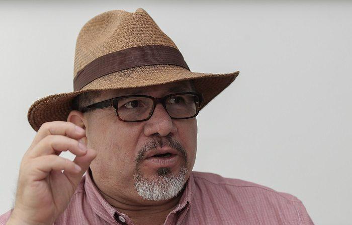 Detienen en México a sospechoso del asesinato del periodista Javier Valdez Fotografía del 5 de octubre de 2016 del escritor mexicano Javier Valdez durante una entrevista con Efe en Ciudad de México (México). EFE/Archivo