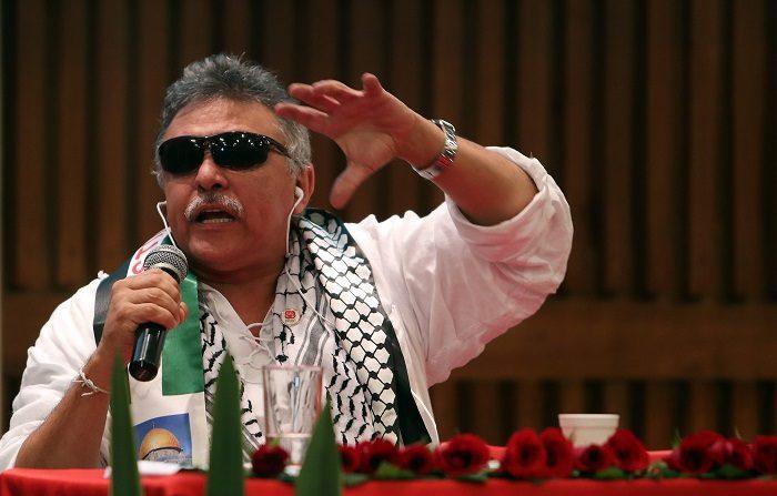 La FARC dice que los derechos fundamentales de Santrich no están garantizados. Seusis Pausias Hernández Solarte, alias Jesús Santrich. EFE/Archivo