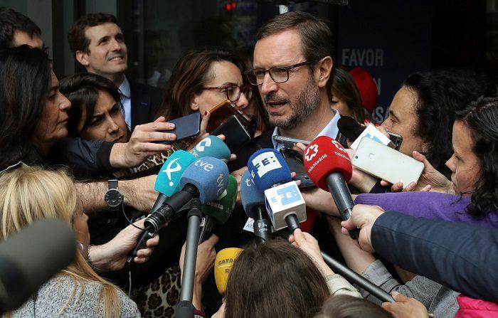 El PP exige que Sánchez supervise las cuentas de Cataluña. El vicesecretario sectorial del PP, Javier Maroto. EFE/Archivo