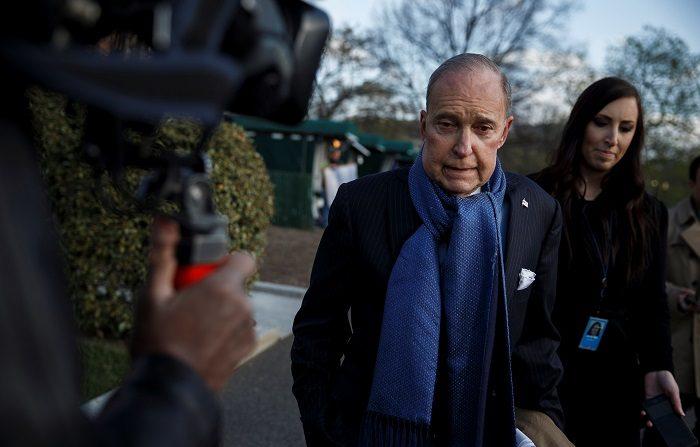 Larry Kudlow, asesor económico de Trump, recibe el alta tras sufrir un infarto En la imagen, el principal asesor económico de la Casa Blanca, Larry Kudlow. EFE/Archivo