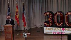 Felipe VI elogia a San Antonio por ser una ciudad