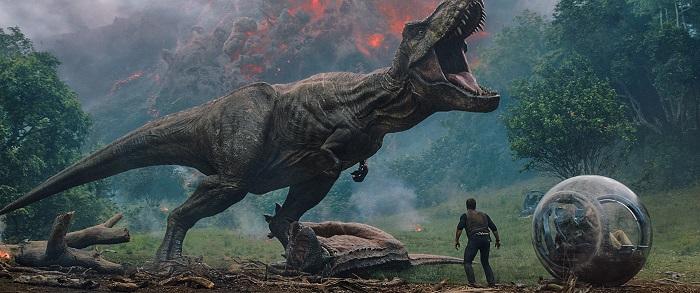 """""""Jurassic World: Fallen Kingdom"""" que llega este fin de semana a la cartelera con proyecciones estimadas en torno a los 150 millones de dólares. EFE/Universal Studios/SOLO USO EDITORIAL/NO VENTAS"""
