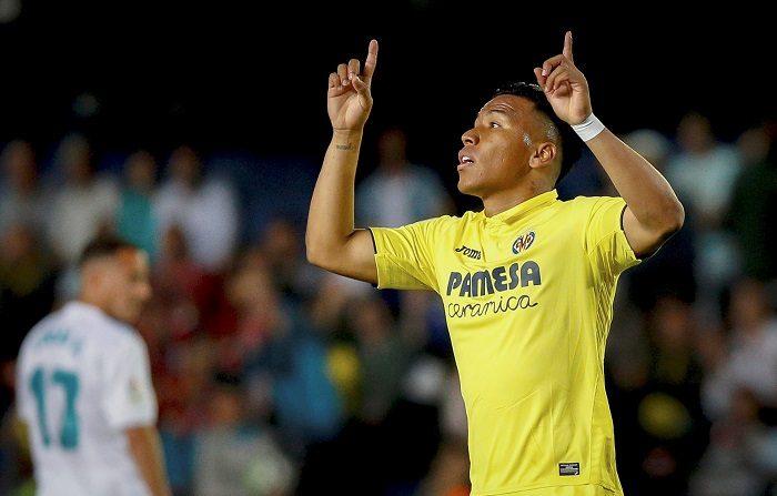 El colombiano Roger Martínez deja el Villarreal y ficha por América mexicano El hasta ahora delantero colombiano del Villarreal Roger Martínez. EFE/Archivo