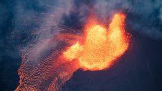 La erupción del volcán de Hawái provoca un temblor de 5,2 grados