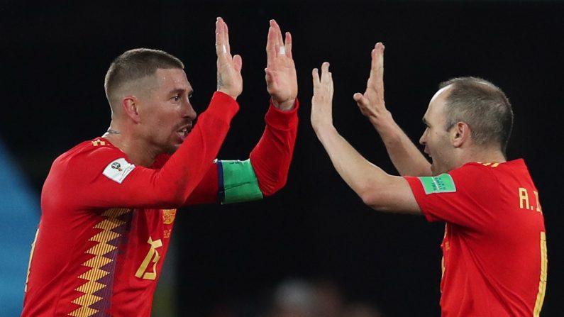 La selección española sólo ha ganado la mitad de sus partidos de las fases finales de los Mundiales o las Eurocopas. EFE