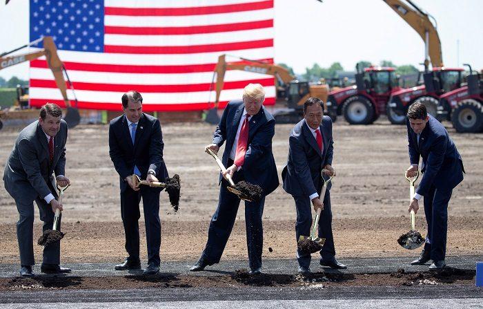 Trump celebra que la taiwanesa Foxconn construya su nueva planta en EE.UU.