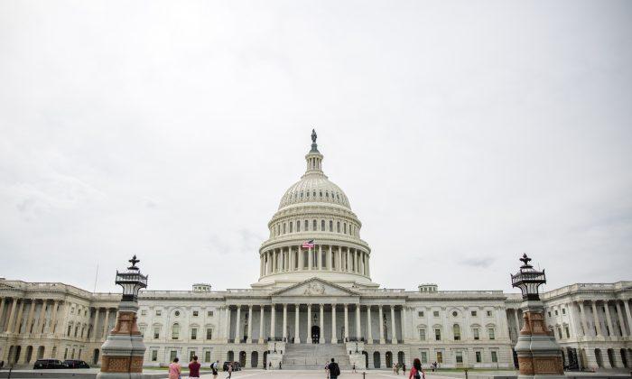 Capitol Hill, la sede del Congreso de los  EE.UU, el 22 de septiembre de 2017. (Samira Bouaou/La Gran Época)