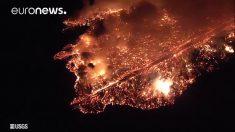 Evacuaciones obligatorias decreta Hawái tras peligroso flujo de lava del volcán Kilauea
