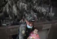 Dramáticas escenas de rescate de la erupción del volcán de Fuego en Guatemala