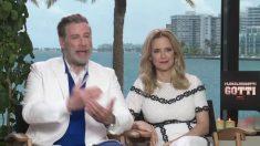 John Travolta y Kelly Preston contaron que filmar Gotti les hizo revivir la pérdida de su hijo