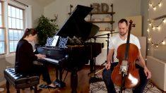Este dúo hizo un cover de una famosa canción que es realmente encantadora de escuchar