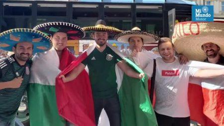 Seis amigos llevaron la 'La Bendición' de México hasta el Mundial de Rusia