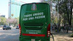 Te presentamos el autobús del TRI