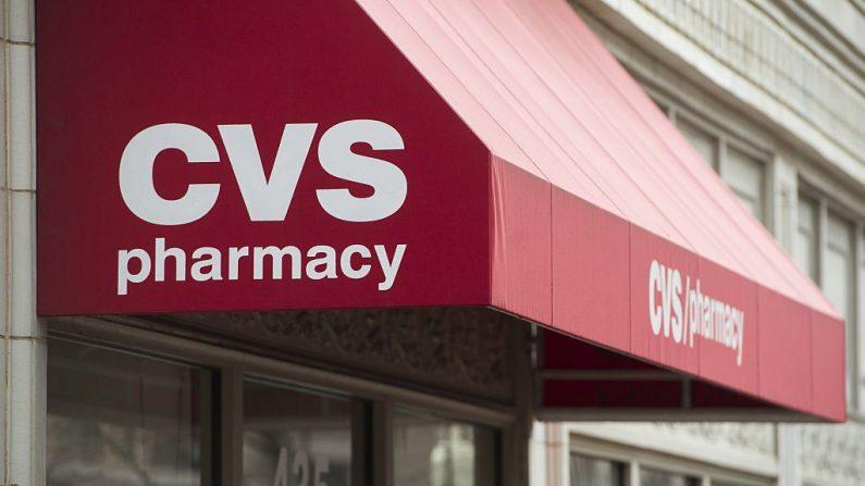 Una farmacia CVS es vista en Washington, DC. AFP / SAUL LOEB (El crédito de la foto debe leer SAUL LOEB/AFP/Getty Images)
