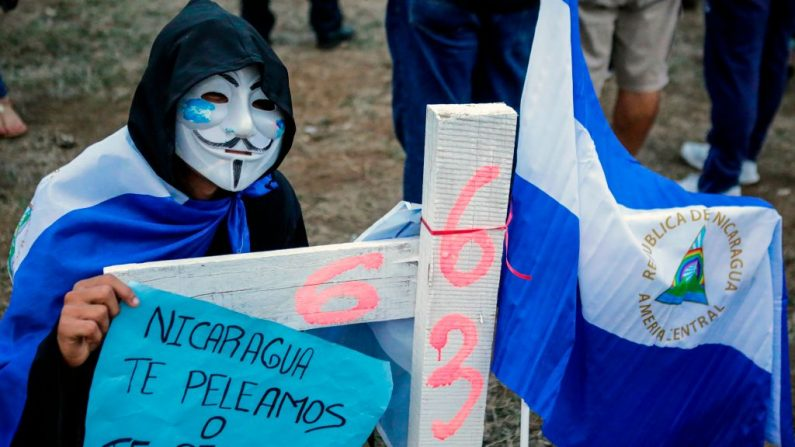 Human Rights Watch (HRW) instó hoy a los cancilleres de los países de la (OEA) a abordar la crisis en Nicaragua Photo by DIANA ULLOA / AFP) (Photo credit should read DIANA ULLOA/AFP/Getty Images