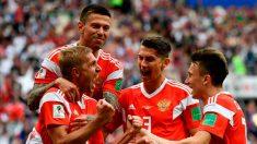 Mundial 2018: Rusia 5 – Arabia Saudita 0, un partido inaugural con goleada y muchos récords