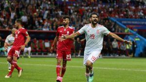 España vence 1-0 a Irán y lidera junto a Portugal un grupo sin clasificados