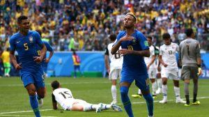 Mundial de Fútbol Rusia 2018: Brasil se recupera y elimina a Costa Rica