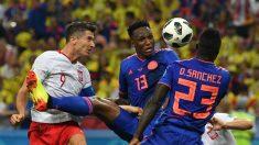 La victoria de Colombia contra Polonia en imágenes