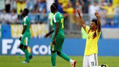 Mundial Rusia 2018: Colombia 1 – Senegal 0, los cafeteros sufrieron pero lograron la clasificación