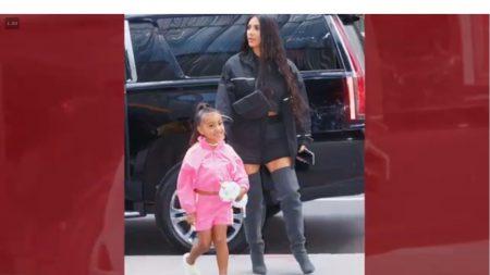 Lluvia de críticas a Kim Kardashian por alisar el cabello de su hija de  5 años