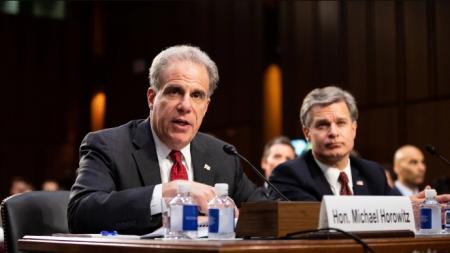 Inspector del Departamento de Justicia confirma fuga de información clasificada del exdirector de FBI