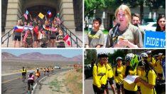 Jóvenes ciclistas recorren casi 5000 km para rescatar niños perseguidos en China