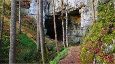 Este granjero inglés descubre agujeros en su tierra que conducen a inexplicables cuevas históricas