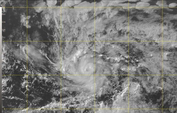 Una depresión tropical formada en el Atlántico se convirtió hoy en la tormenta tropical Beryl, la segunda de esta temporada, que se encuentra a 1.330 millas (2.140 kilómetros) al este-sureste de las Antillas Menores, informó el Centro Nacional de Huracanes (NHC). EFE/NHC-NOAA/SOLO USO EDITORIAL
