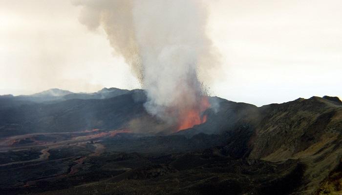 El volcán Sierra Negra, en la isla Isabela del archipiélago ecuatoriano de Galápagos. EFE/Archivo