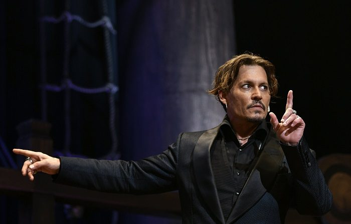 """El actor Johnny Depp fue denunciado por un trabajador de un rodaje por presuntamente haberlo golpeado en el set de la película """"City of Lies"""", según informaron hoy medios locales.EFE/Archivo"""