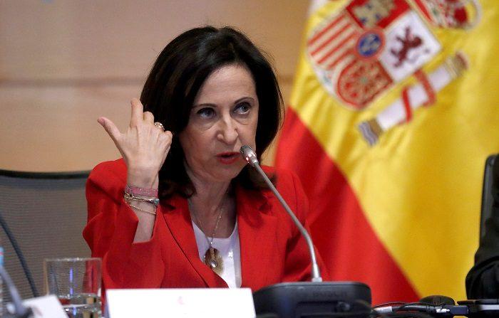 España, el segundo país de la OTAN con menos gasto militar en 2018 La ministra de Defensa, Margarita Robles. EFE/Archivo