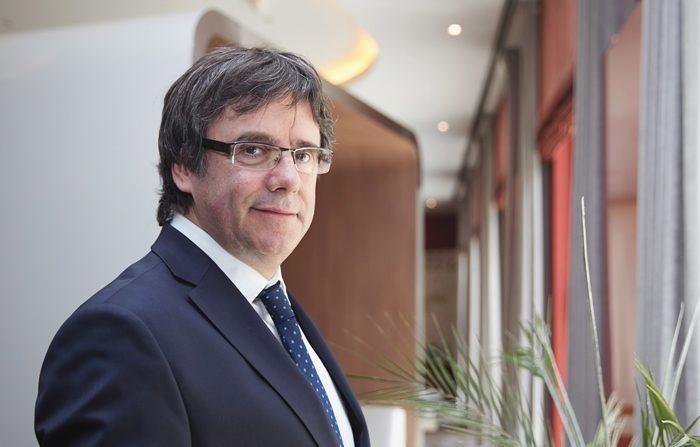 El expresidente catalán Carles Puigdemont posa en su residencia temporal de Berlín, en Alemania, el pasado 22 de mayo. EFE/Archivo