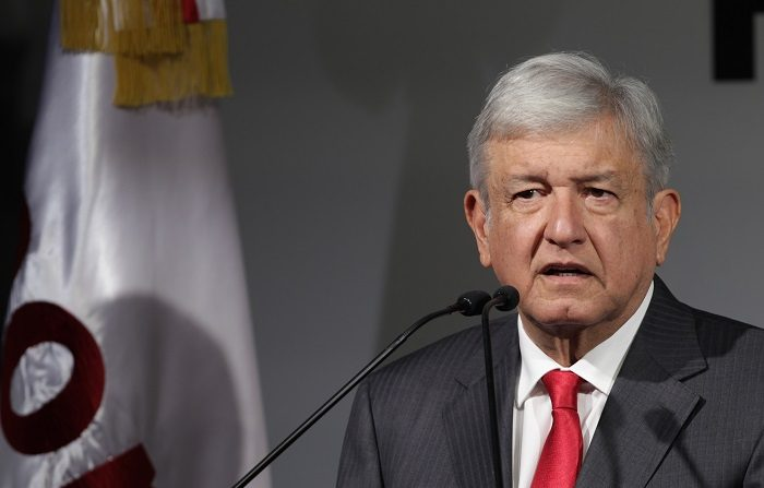 El presidente mexicano Andrés Manuel López Obrador. EFE