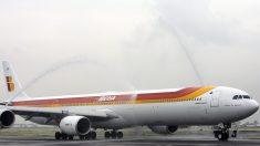 Avión de Iberia aterrizó con problemas mecánicos