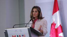 Representantes de los gobiernos de Canadá y México se reunirán el 25 de julio