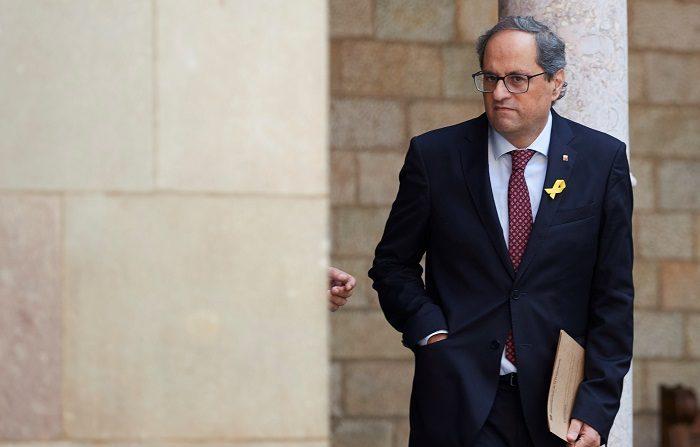 """Una nueva iniciativa pide la """"reconciliación"""" de Cataluña a través de diálogo. EFE"""