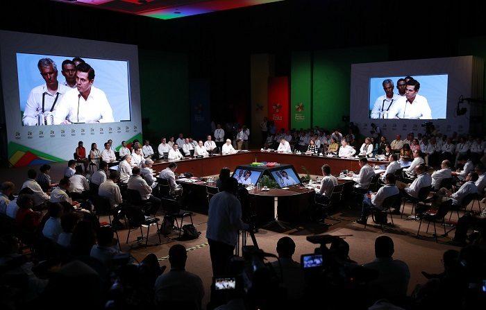 La XIII Cumbre Presidencial de la Alianza del Pacífico fue inaugurada formalmente por el presidente de México, Enrique Peña Nieto, con la prioridad de consolidar el mecanismo en beneficio de América Latina en su conjunto. EFE