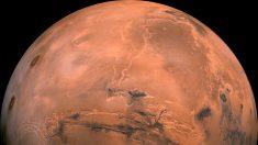 Un lago de agua líquida se esconde bajo la superficie de Marte
